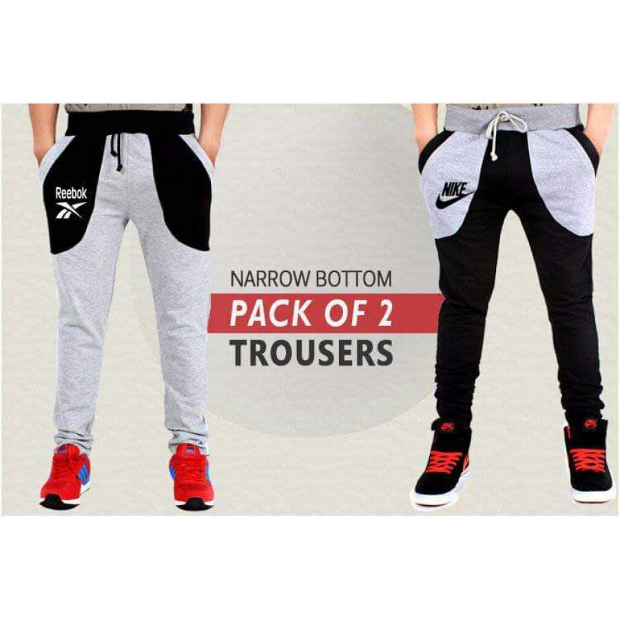 Pack of 2 NARROW BOTTOM Trousers