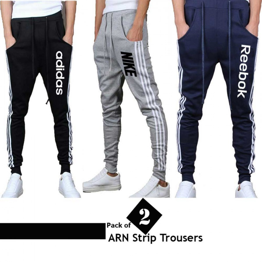 Pack of 2 ARN Strip Trousers for men