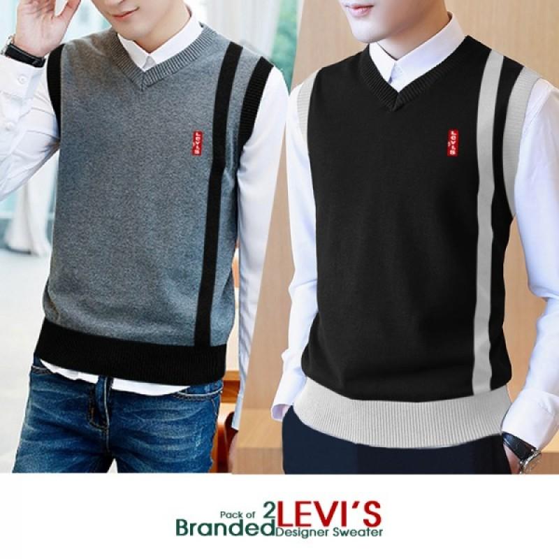 Pack of 2 LEVIS Branded Designer Sweater