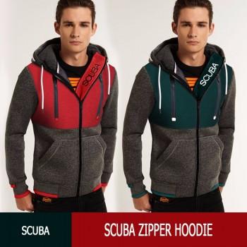 Scuba Zipper Hoodie