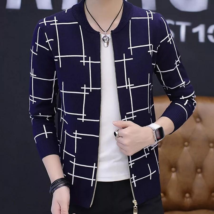 Lining Zipper Jacket Design 2 For Men