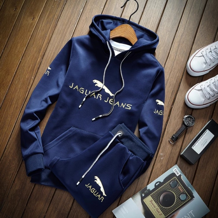Blue Jaguar Track Suit For Men