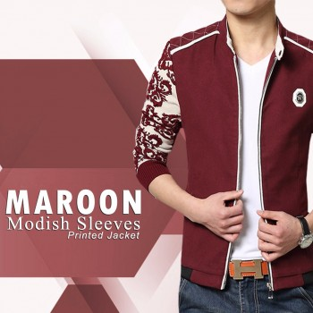 Multi Color Modish Sleeves printed Jacket
