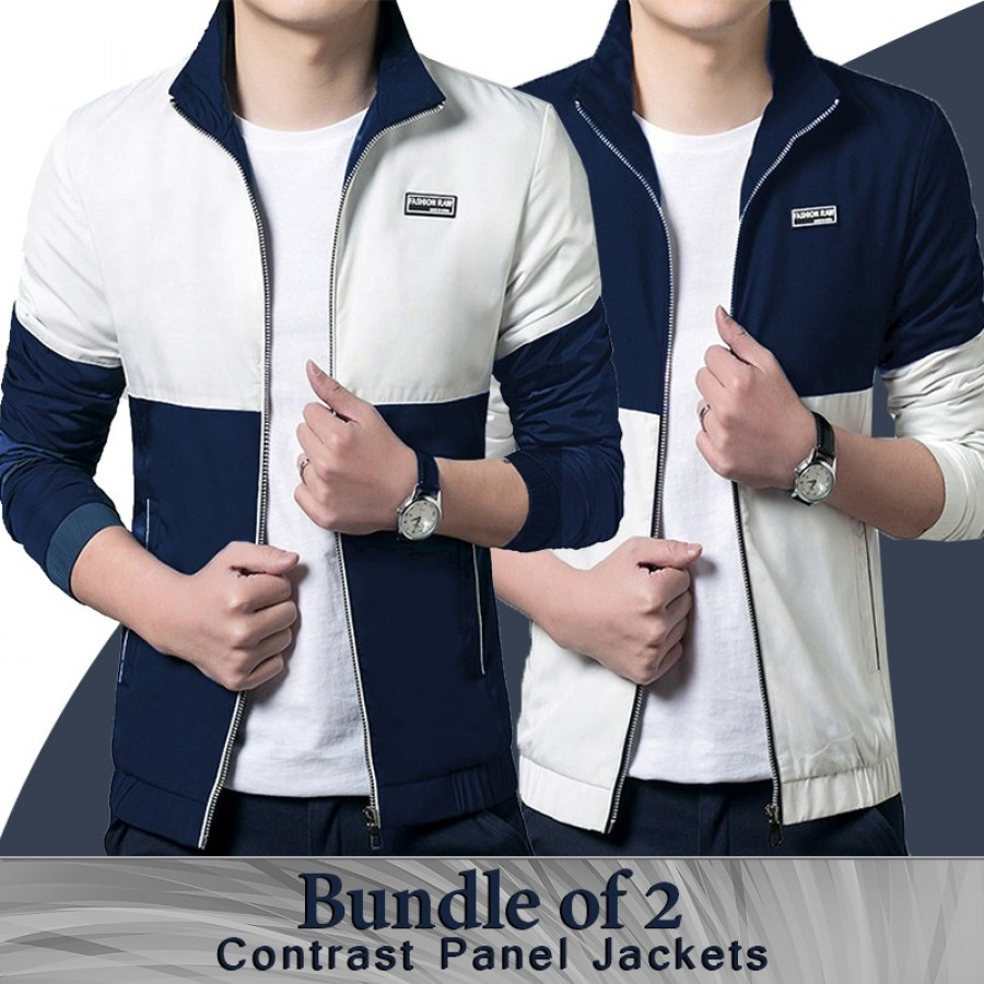Bundle of 2 contrast Panel Hood