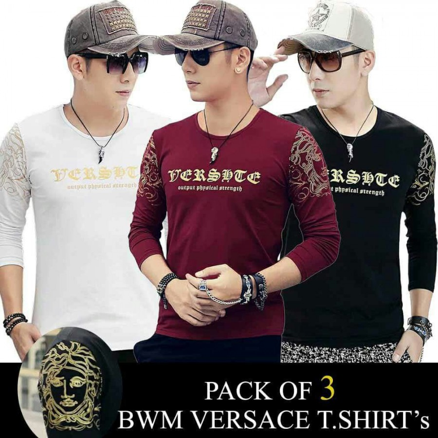 Pack Of 3 BWM Vc T-shirts