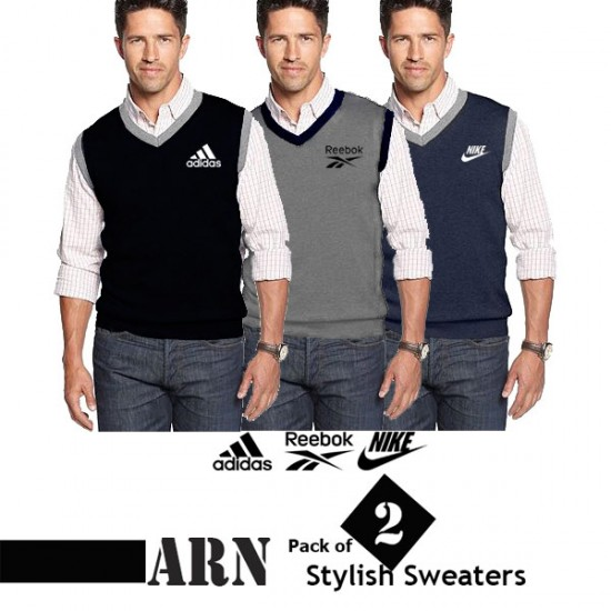 Pack of 2 ARN Stylish Export Quality Sweaters