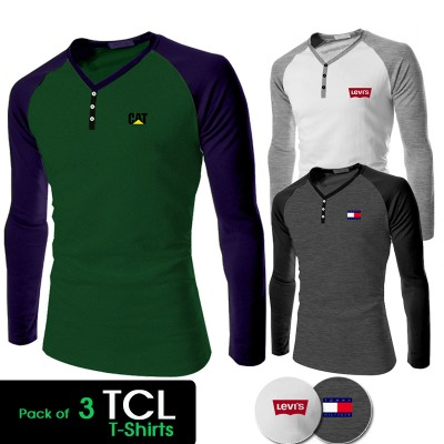 Pack of 3 TCL T-shirts