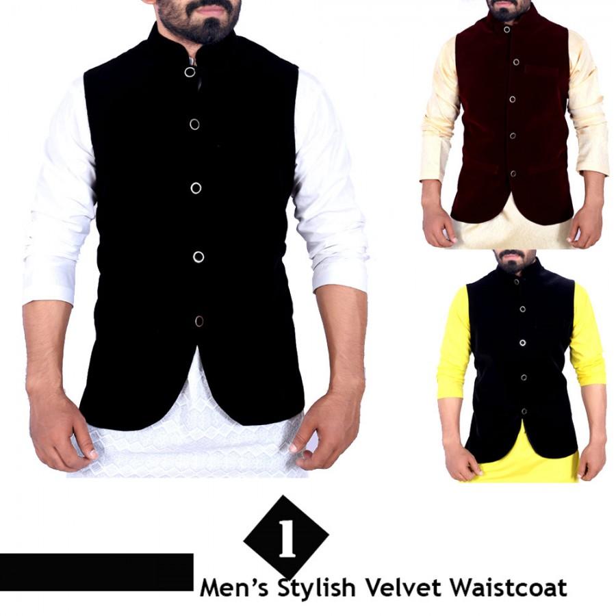 Velvet Stylish Waistcoat