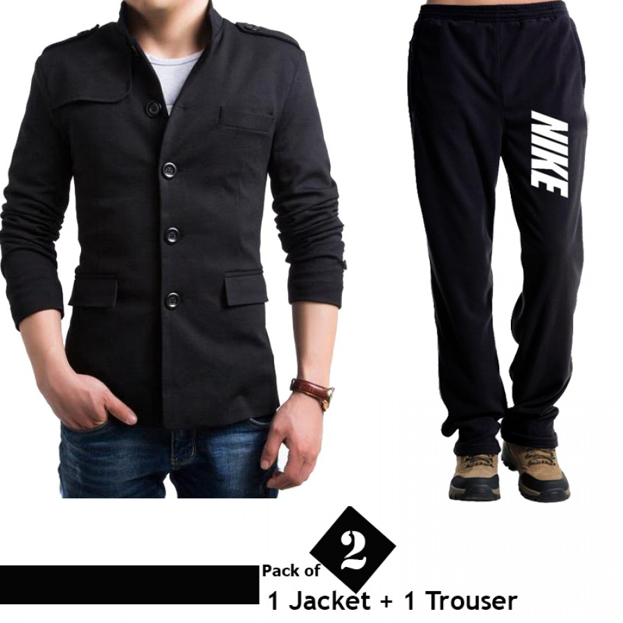 Pack of 2 Combo (1 Jacket and 1 Trouser)