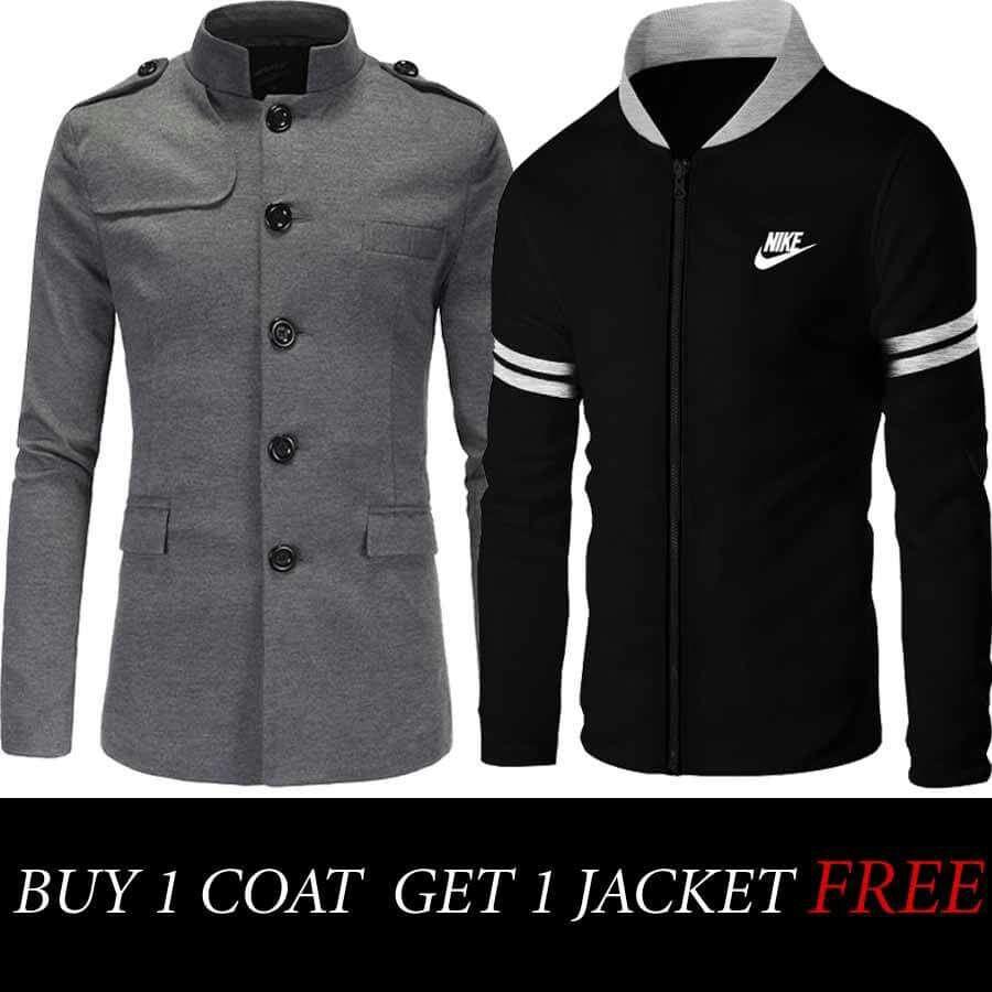 Buy 1 Coat Get 1 Jacket Free