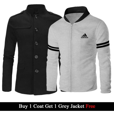 Buy 1 Coat Get 1 Jacket Free