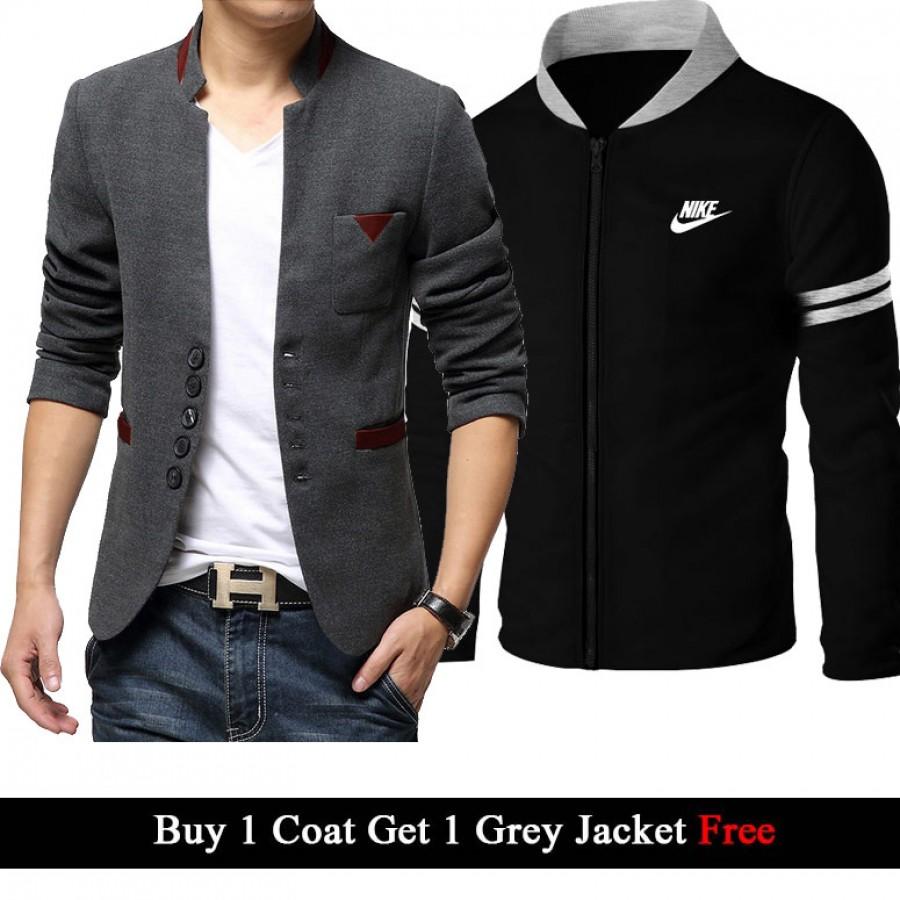 Buy 1 Coat (Design number 2) Get 1 Jacket Free