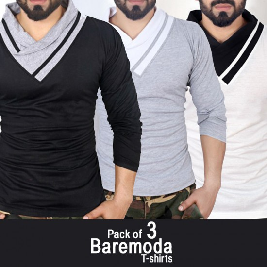 Pack of 3 Baremoda T-shirts