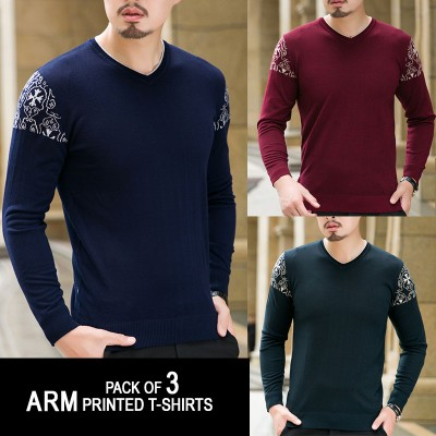 Pack of 3 ARM Printed T-Shirts