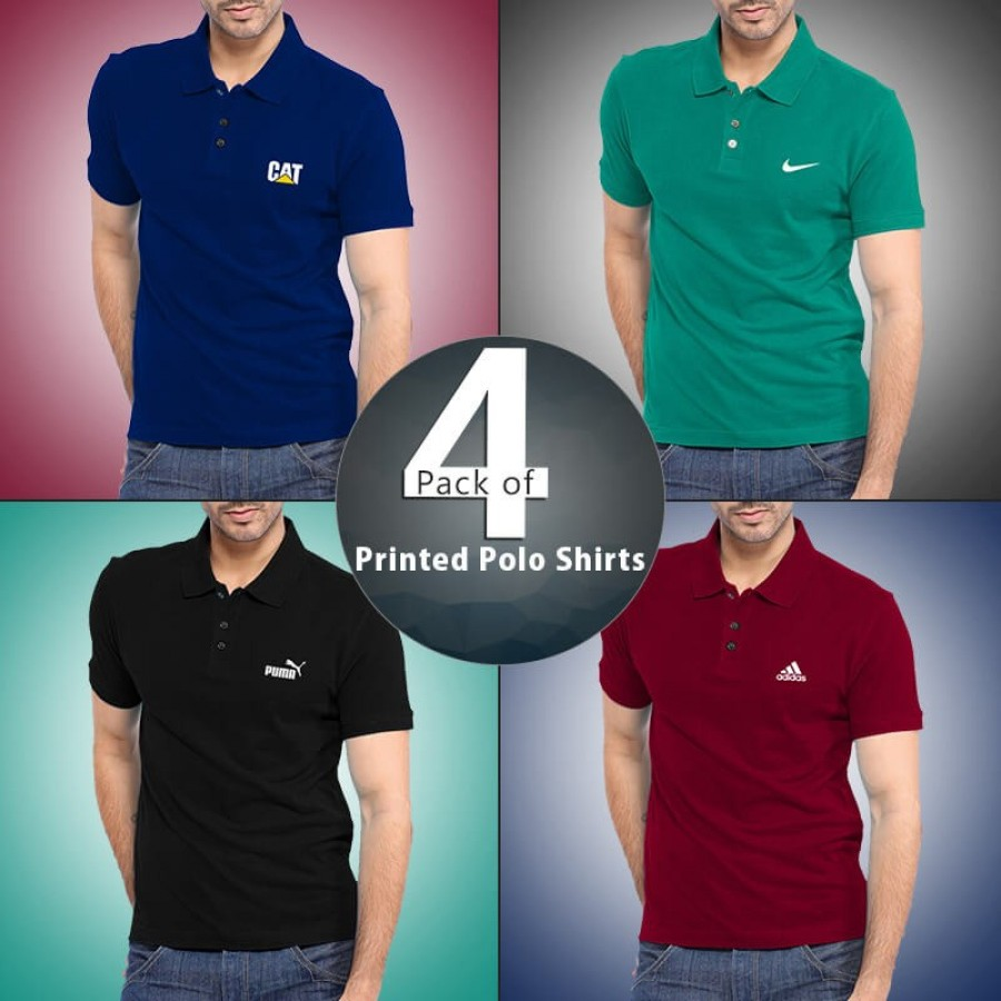 Pack of 4 RC Polo T-Shirts