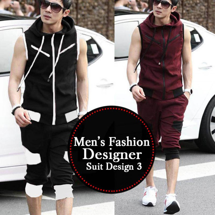 Pack of 3 Fashion Printed Sleeve T-shirts