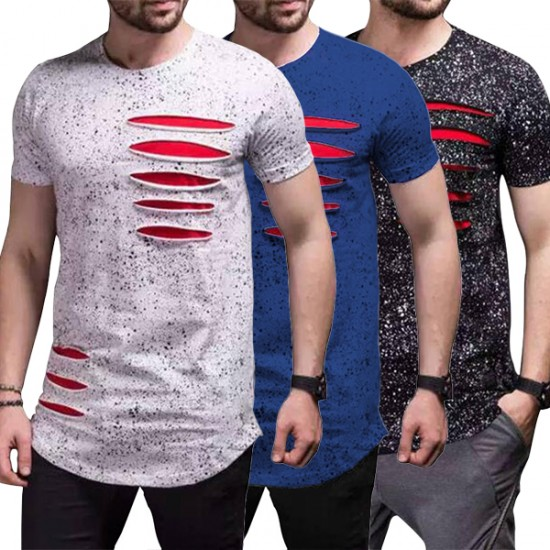 Pack of 3 Ripped T-shirts