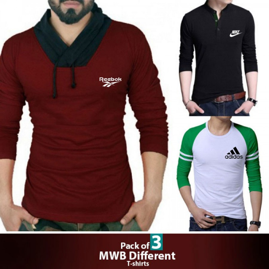 Pack of 3 ( MWB Different T-Shirts )