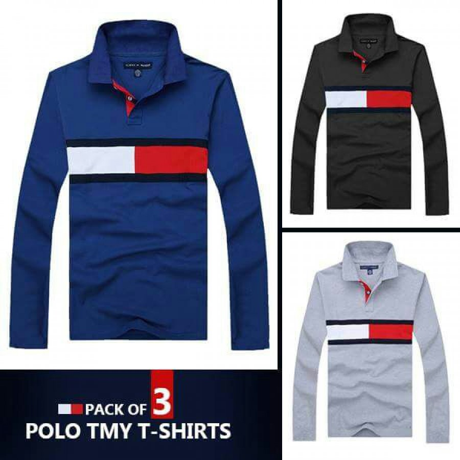 Pack of 3 Polo TMY T-Shirts