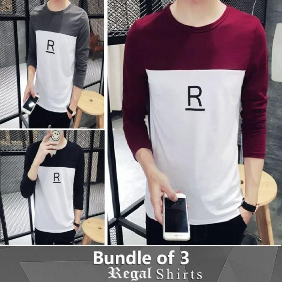 Bundle of 3 Regal Shirts