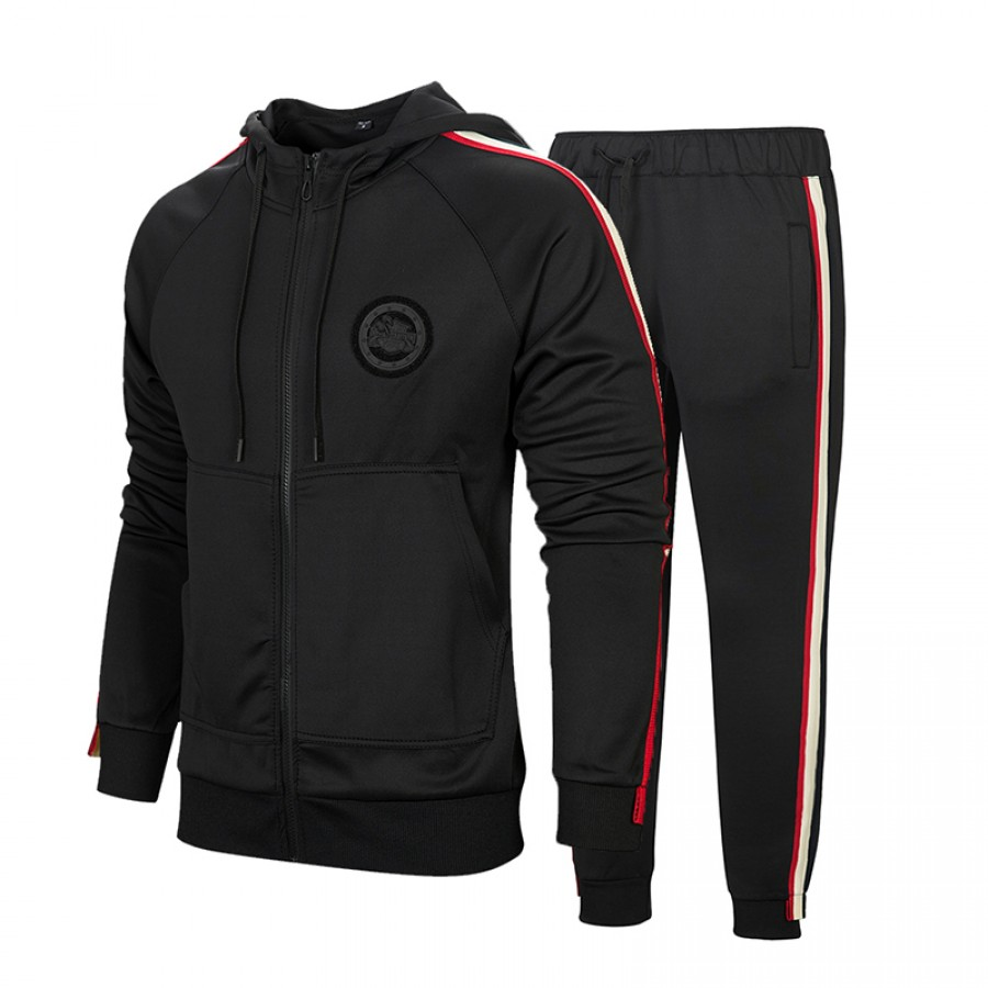 Black Stylish Men Track Suit Design 12