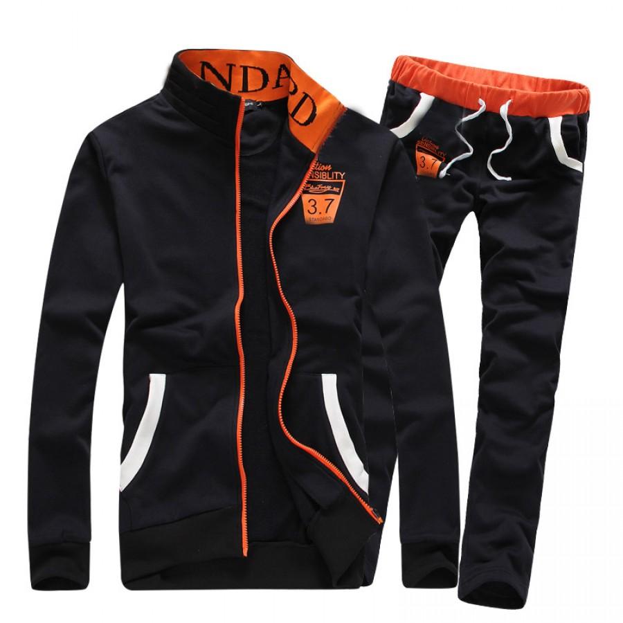Black Stylish Men Track Suit Design 15