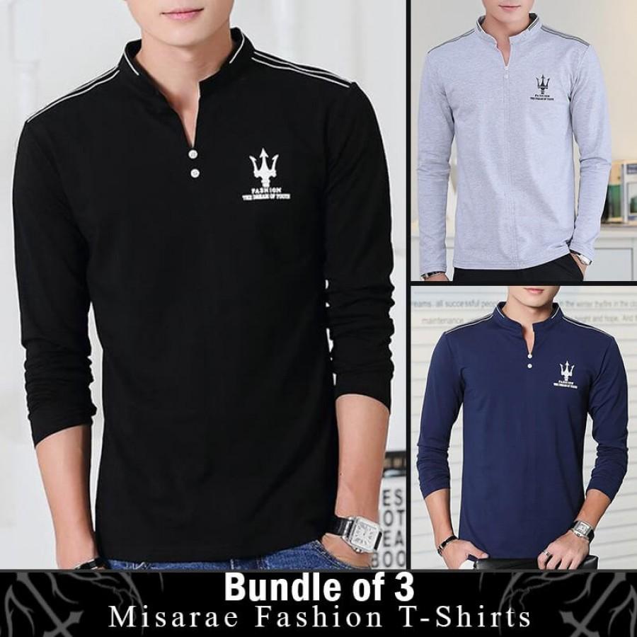 Bundle of 3 Misarae fashion t-shirts