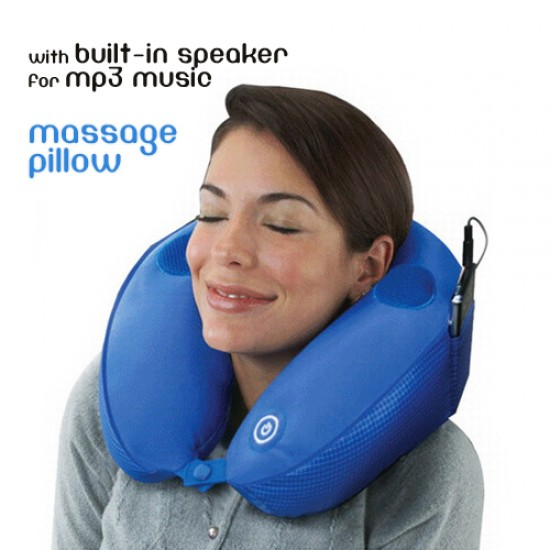 Music Mp3 Massage Pillow with Vibration