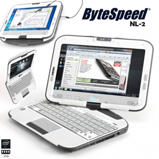 Brand New ByteSpeed NL-2 Laptop (2GB Ram, 160GB Hard Drive, With Web Cam) TOUCH & TYPE Charger And Box in Just Rs.6899/-Only,