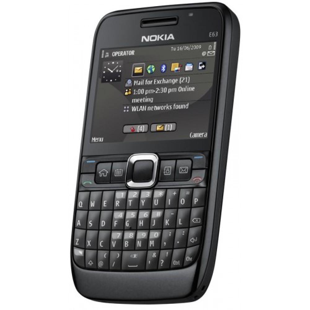 refurbished reconditioned mobile phones nokia phone nokia e63 rs 3 500. Black Bedroom Furniture Sets. Home Design Ideas