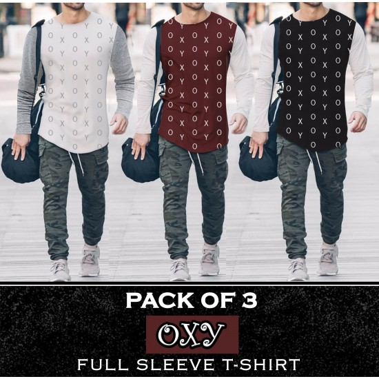 Pack Of 3 OXY T-Shirt