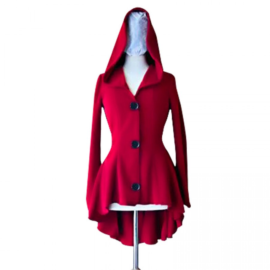 Elegant Hoodied Winer Coat for HER