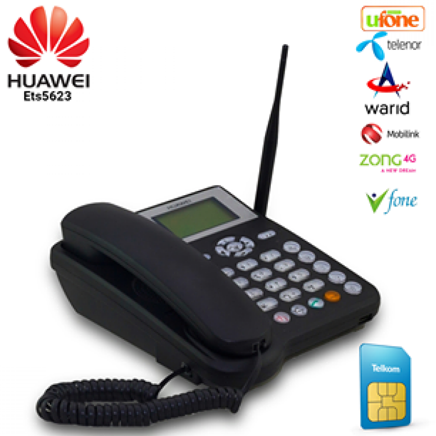 Huawei ETS 5623 LANDLINE PHONE WITH SIM SUPPORT