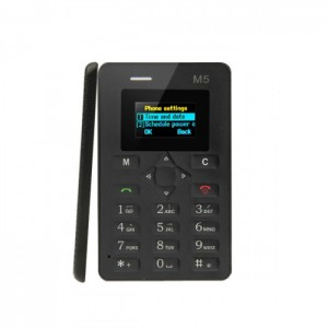 M5 Credit Card Size Mobile Phone Rs 1799