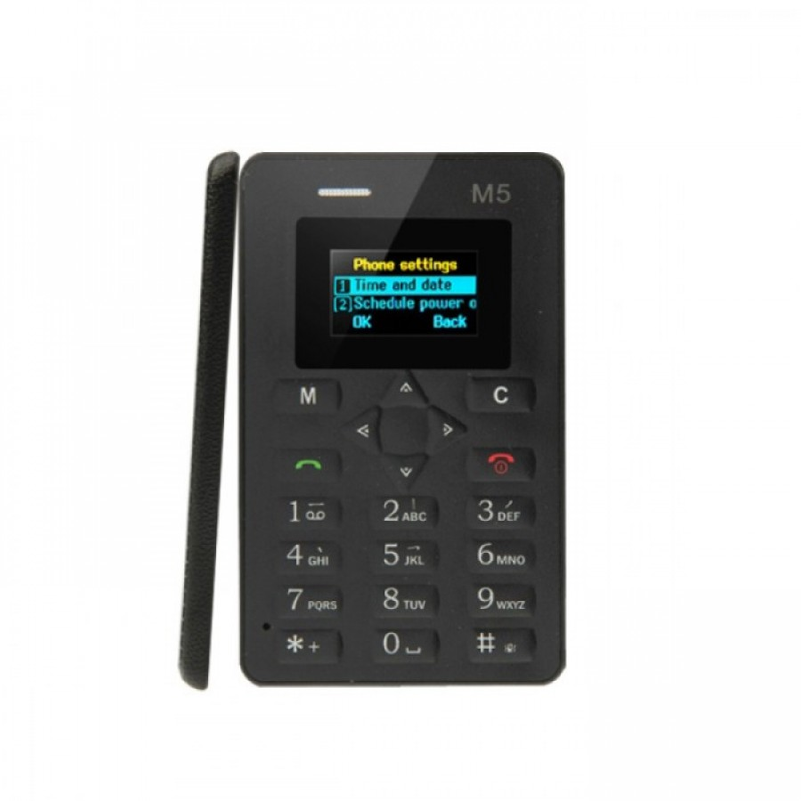 M5 Credit Card Size Mobile Phone Rs 1,999