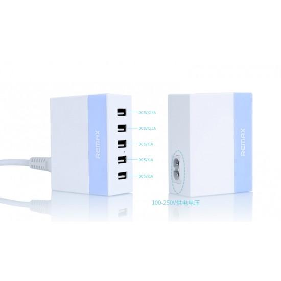 Remax RU-U1 5 Port USB Charger 2.4A