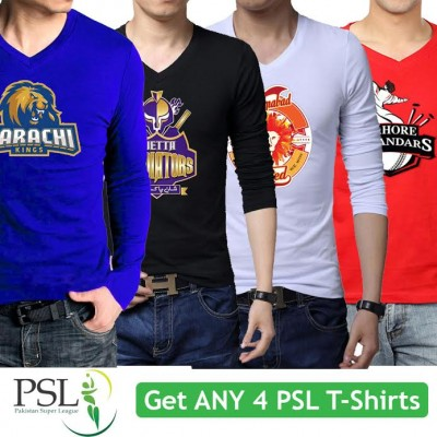 Get any 4 PSL T-Shirts