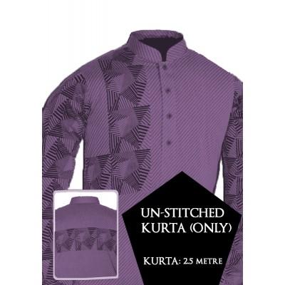 New Un-stitched Kurta ONLY HJ Style D-117