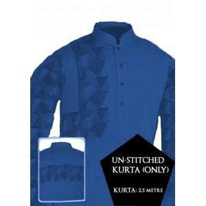 New Un-stitched Kurta ONLY HJ Style D-118