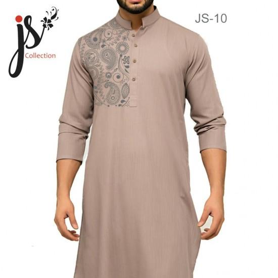 JS Style D # 10 Un-Stitched Kurta