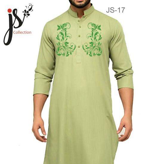 Un-stitched Kurta Shalwar JS Style D-17