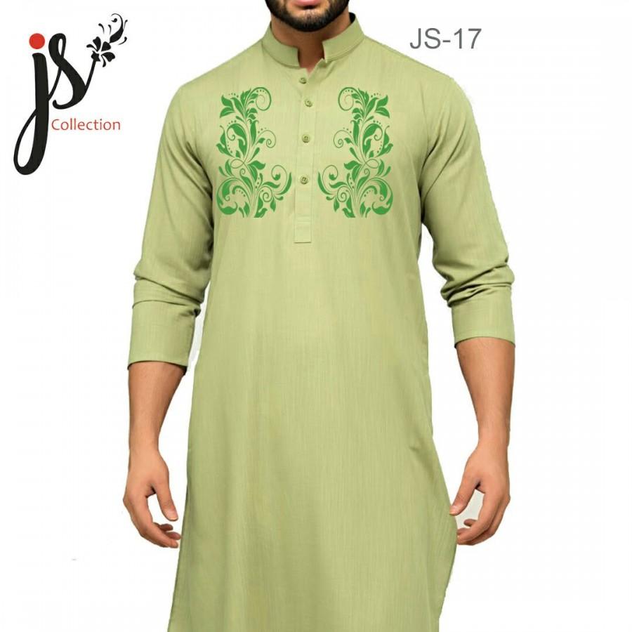 JS Style D # 17 Un-Stitched Kurta