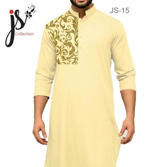 JS Style D # 15 Un-Stitched Kurta