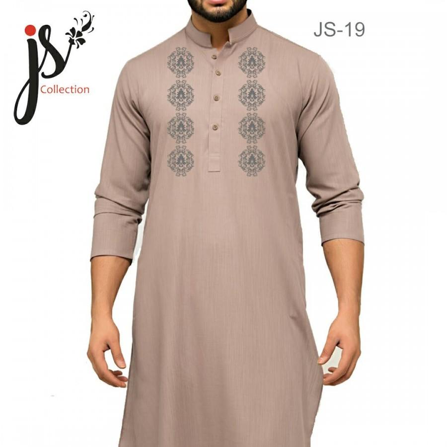 Un-stitched Kurta Shalwar JS Style D-19
