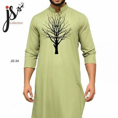 JS Style D # 34 Un-Stitched Kurta