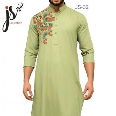 JS Style D # 32 Un-Stitched Kurta