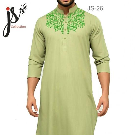 JS Style D # 26 Un-Stitched Kurta