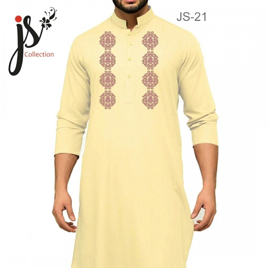 JS Style D # 21 Un-Stitched Kurta