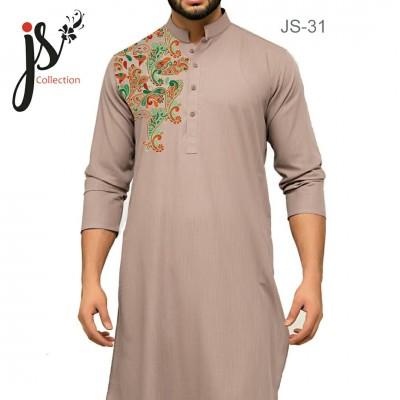 JS Style D # 31 Un-Stitched Kurta
