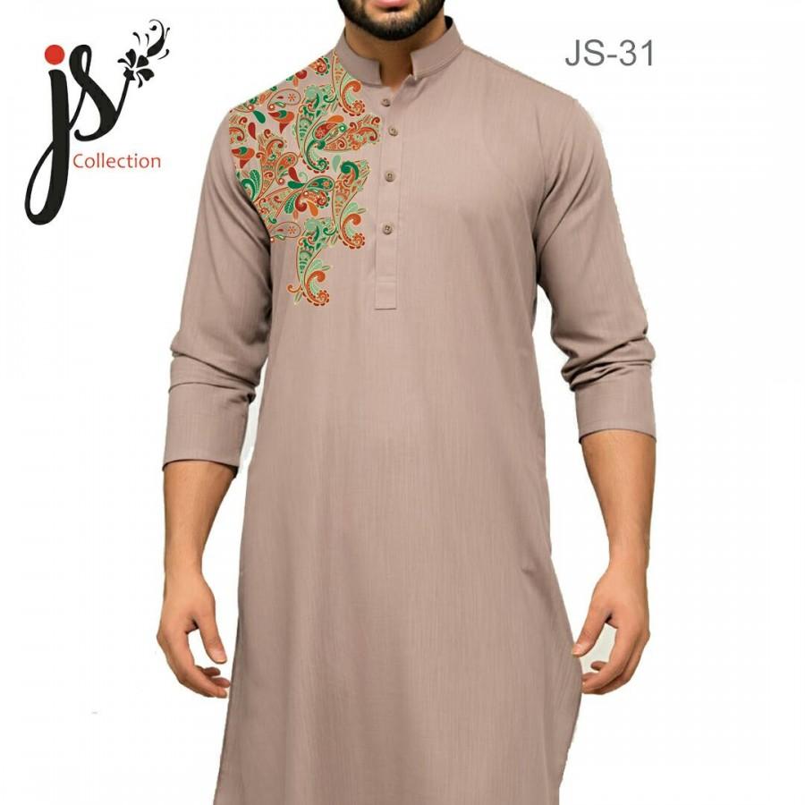 Un-stitched Kurta Shalwar JS Style D-31